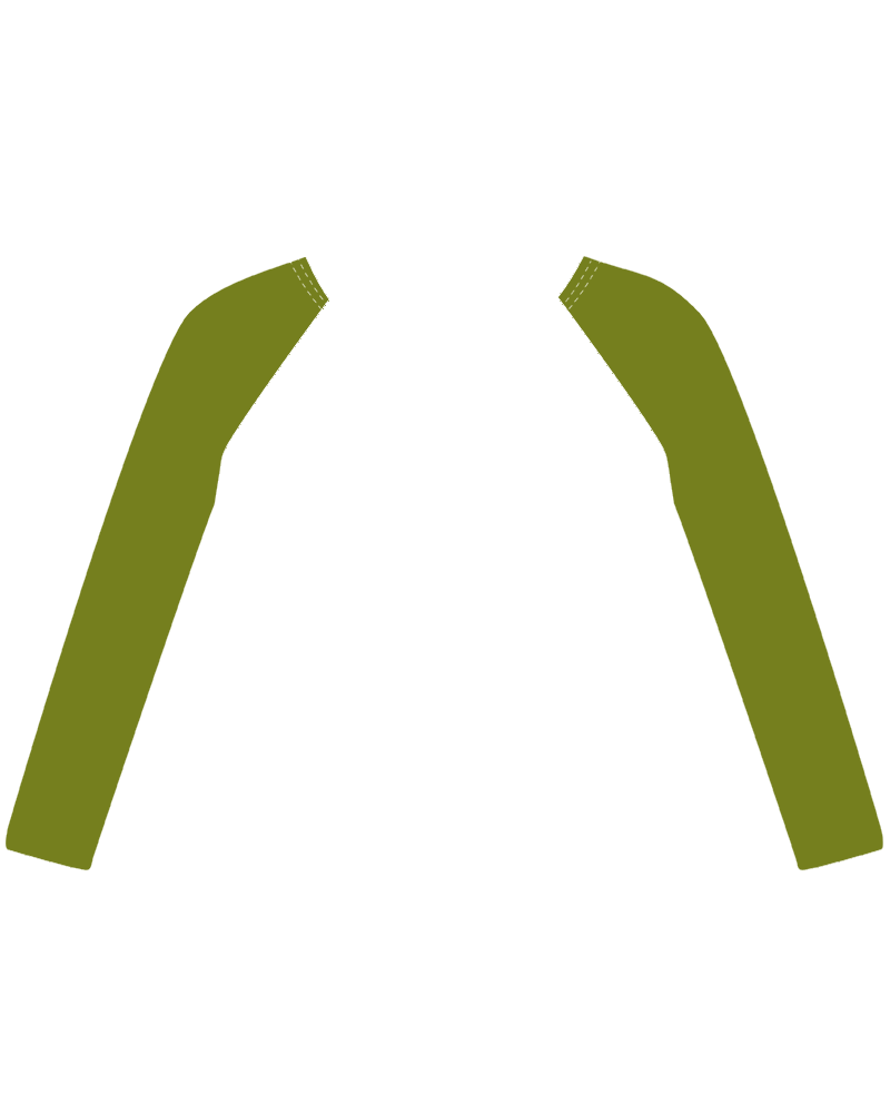 felpa verde musgo