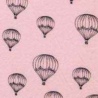 globos en rosa